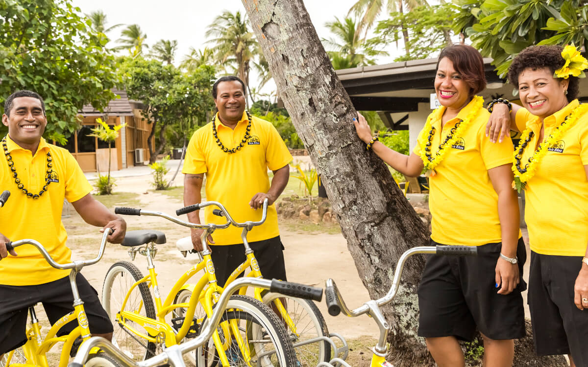 Bula Bikes Fiji friendly staff